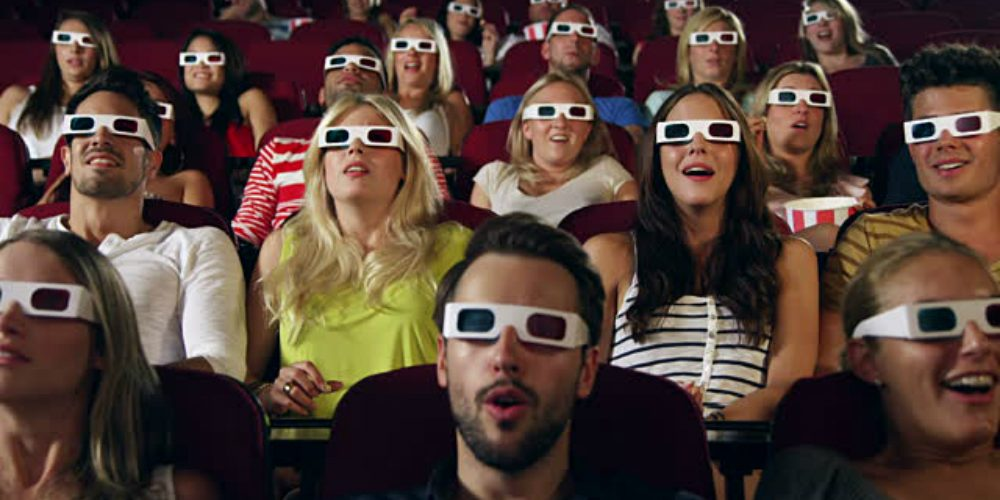 You experience hypnosis when watching a film