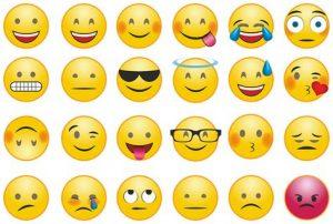 Emotion smileys